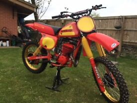 honda cr250 red rocket bristol