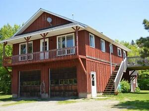 This house has it all = 55 acres, inground pool, barn, cabin +++
