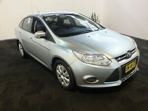 2013 Ford Focus LW MK2 Ambiente Silver 6 Speed Automatic Sedan Clemton Park Canterbury Area Preview