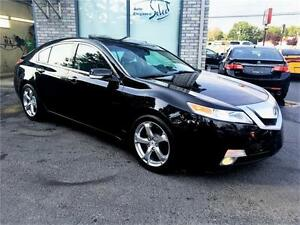 2010 Acura TL SH-AWD **MANUAL 6 SPEED** W/TECH PKG