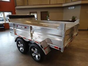 Aluminum Dump Trailer Kitchener / Waterloo Kitchener Area image 2