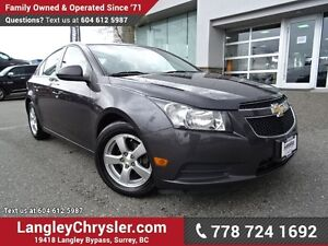 2011 Chevrolet Cruze LT Turbo ACCIDENT FREE w/ TURBO, POWER W...