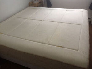 KING matelas mousse memoire semi-ferme