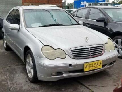 2000 Mercedes-Benz C240 W203 Elegance Silver 5 Speed Automatic Sedan