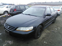 1998 TO 2002 HONDA ACCORD PARTS FOR SALE