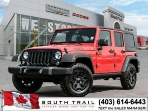 2018 Jeep Wrangler JK Unlimited Willys Wheeler for only $285 BW!