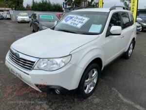 2010 Subaru Forester MY10 XS White 4 Speed Auto Elec Sportshift Wagon Cabramatta Fairfield Area Preview