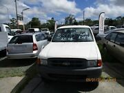 2000 Ford Courier PE GL Crew Cab White 5 Speed Manual 4x4 Dual Cab Beenleigh Logan Area Preview