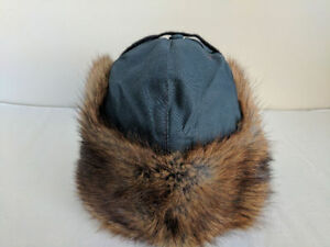 RCMP Issued Muskrat Hat