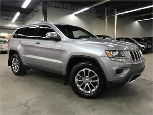 JEEP GRAND CHEROKEE LIMITED 2014/4X4/CAMERA/CUIR/TOIT/FULL!!