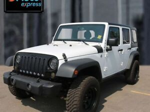 2016 Jeep Wrangler Unlimited Willys Wheeler, 3.6L V6, 6 Speed Ma