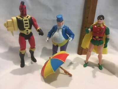 Vintage DC Characters - 1984 Penguin, 1984 Robin, 1986 Unknown