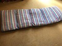 """Kids """"bed in a bag"""" sleeping mattress"""