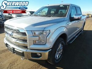 2017 Ford F-150 w/ SYNC Connect, Leather, Navigation, Tow Pack