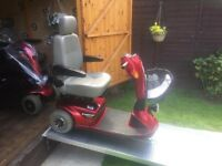 Lovely Pride Legend Any Terrain Mobility Scooter With Comfortable Ride For Only £345