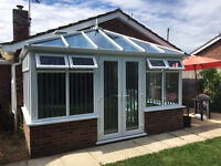 We supply and fit Conservatories' roof upgrades, windows &doors & repair service.