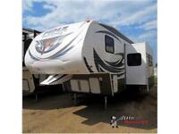 New 2015 Palomino Puma Unleashed 359-THKS Toy Hauler Fifth Wheel