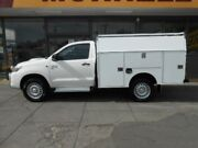 2014 Toyota Hilux KUN26R MY14 SR (4x4) White 5 Speed Automatic Cab Chassis West Hindmarsh Charles Sturt Area Preview