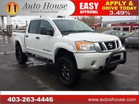 2013 Nissan Titan PRO-4X NAVI BACKUPCAM LIFT KIT WITH BIG TIRES
