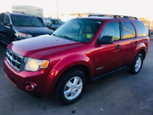 2008 Ford Escape XLT, 4WD, ONE OWNER, CLEAN CARPROOF, 2 KEYS