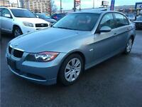 2006 BMW 3 Series 323i LOW LOW MILEAGE, AUTO, SUNROOF, LEATHER,
