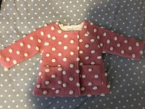 ZARA Knitwear Baby Girl 9-12 months Pink/White