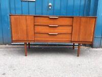 1960s Austinsuite Sideboard/Credenza in Teak. Vintage/Retro/Mid Century