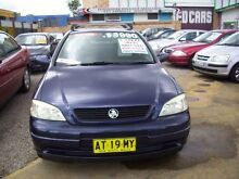 2000 Holden Astra TS CD Blue 5 Speed Manual Hatchback Woodbine Campbelltown Area Preview