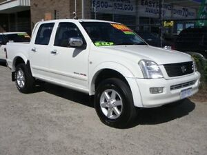 2004 Holden Rodeo RA LT (4x4) White 5 Speed Manual Crew Cab P/Up Wangara Wanneroo Area Preview