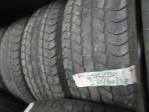 FOUR USED ALL SEASON 275-60-20 { GOODYEAR  } R.H AUTO