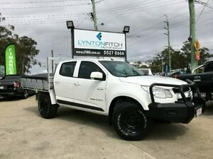 2013 Holden Colorado RG MY13 LX Crew Cab White Manual Utility Southport Gold Coast City Preview