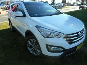 2013 Hyundai Santa Fe DM Highlander CRDi (4x4) White 6 Speed Automatic Wagon Belconnen Belconnen Area Preview