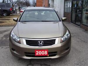 2008 Honda Accord Sdn EX with sunroof and alloy wheels.