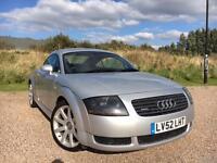 AUDI TT 1.8T QUATTRO 180 COUPE *LOW MILES, CLEAN CAR, NEW MOT & SERVICED*