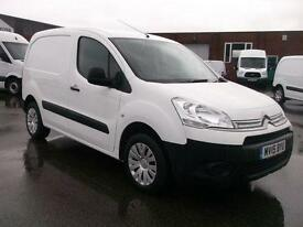 Citroen Berlingo 1.6 HDI 850KG ENTERPRISE 90PS VAN DIESEL MANUAL WHITE (2015)