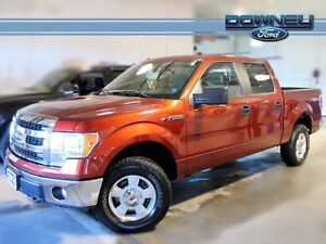 2014 Ford F-150 XLT, 300A, TOW PACKAGE, 3.55 REAR END, 5.0L