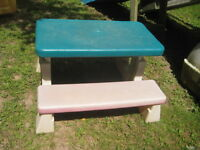 Little tykes picnic table  NEW PRICE