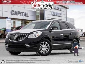 2017 Buick Enclave AWD LEATHER REMOTE START HEATED SEATS & STEER