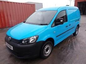 Volkswagen Caddy 1.6 102PS STARTLINE EURO 5 DIESEL MANUAL BLUE (2015)