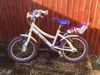 Child's Bike For Sale - Includes Stabilisers