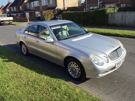 Mercedes E320 - Silver - Extremely Low Mileage