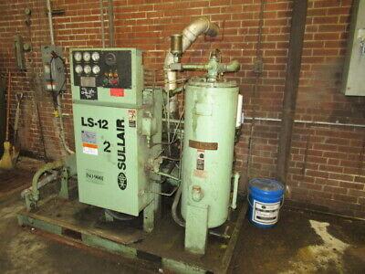 Sullair Air Compressor Ls-12-50h