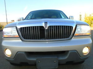 2004 Lincoln Aviator ULTIMATE-4X4-DVD-HDTV-NAVI-LEATHER-SUNROOF