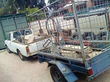 7 x 4 single axle  box trailer with high cage Beechboro Swan Area Preview