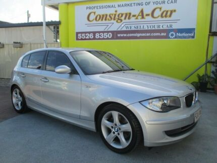 2008 BMW 120i E87 MY07 Silver 6 Speed Automatic Hatchback