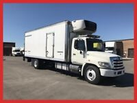 Hino Reefer w/ 24' box, tailgate, LOW KM's!