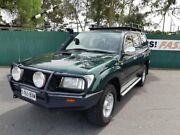 1999 Toyota Landcruiser HZJ105R RV Green 4 Speed Automatic Wagon Gepps Cross Port Adelaide Area Preview