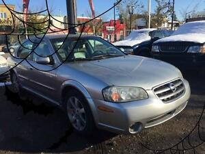 2003 Nissan Maxima GLE- 6 MONTHS WARRANTY INCLUDED!