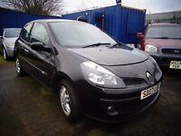 2007 07 reg renault clio dynamique 1.4 3 door mot good we cheap car £995