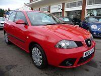 SEAT IBIZA 1.4 STYLANCE 16V 5d 74 BHP (red) 2006